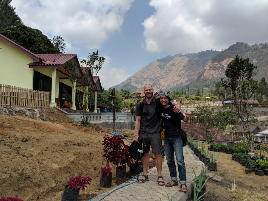 Two guys in Java
