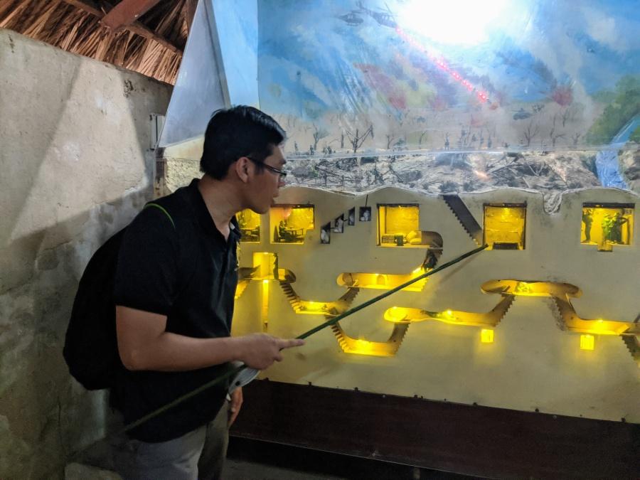 Model of Cu Chi Tunnels