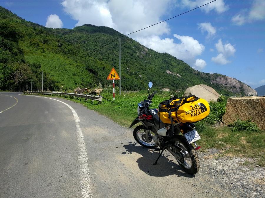 The Coastal Road Between Phan Rang and Nha Trang
