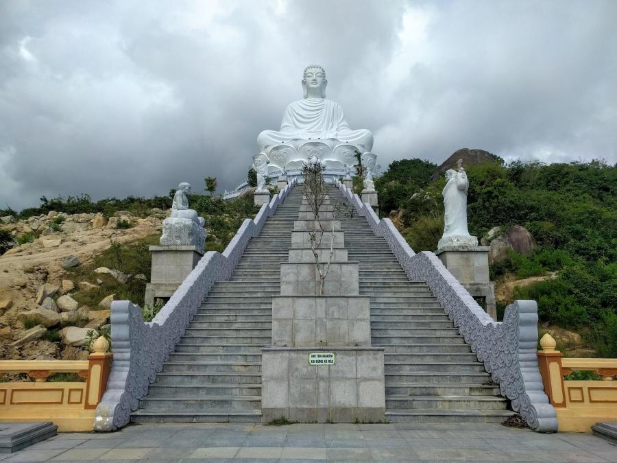 Buddha at Tượng Phật Chùa Ông Núi Temple