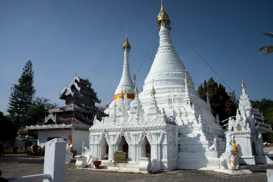 Wat Phrathat Doi Kongmu in Mae Hong Son