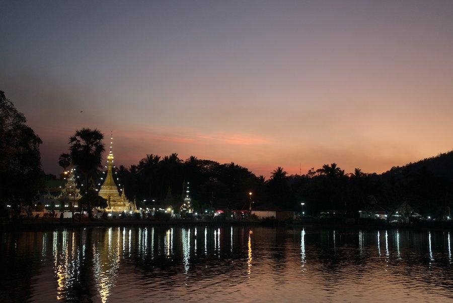Wat Chong Kham in Mae Hong Son