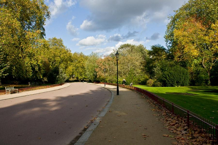Battersea Park in London