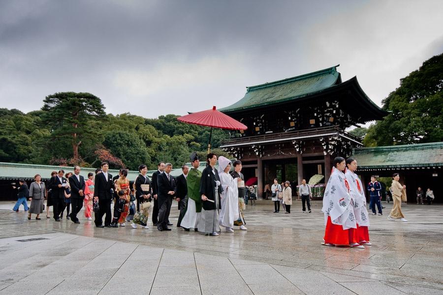 A wedding in Tokyo