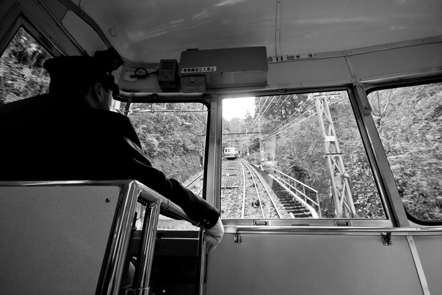 Funicular to Koyasan