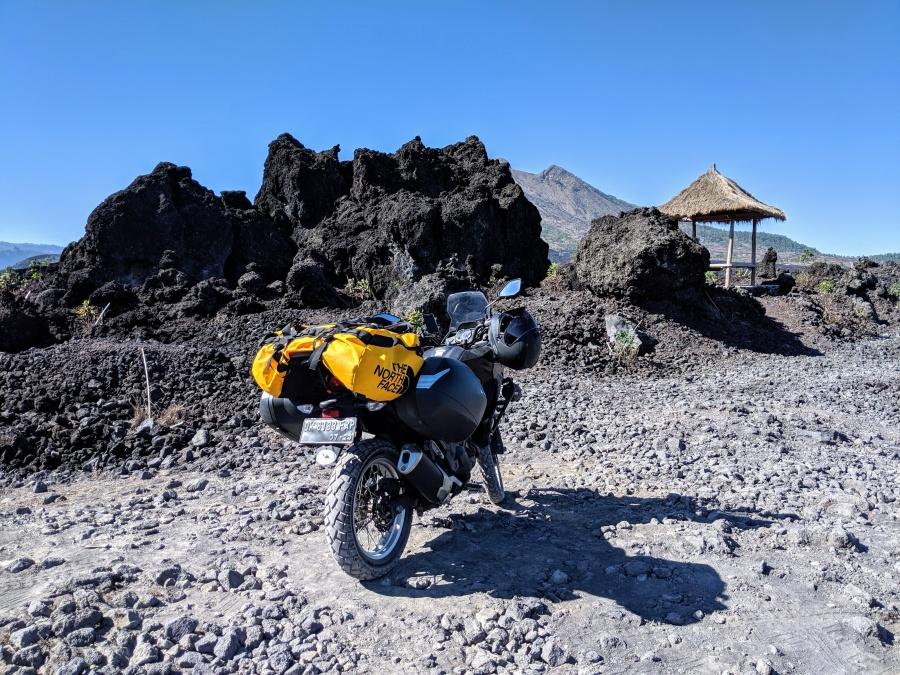 Mt Batur Lava Fields