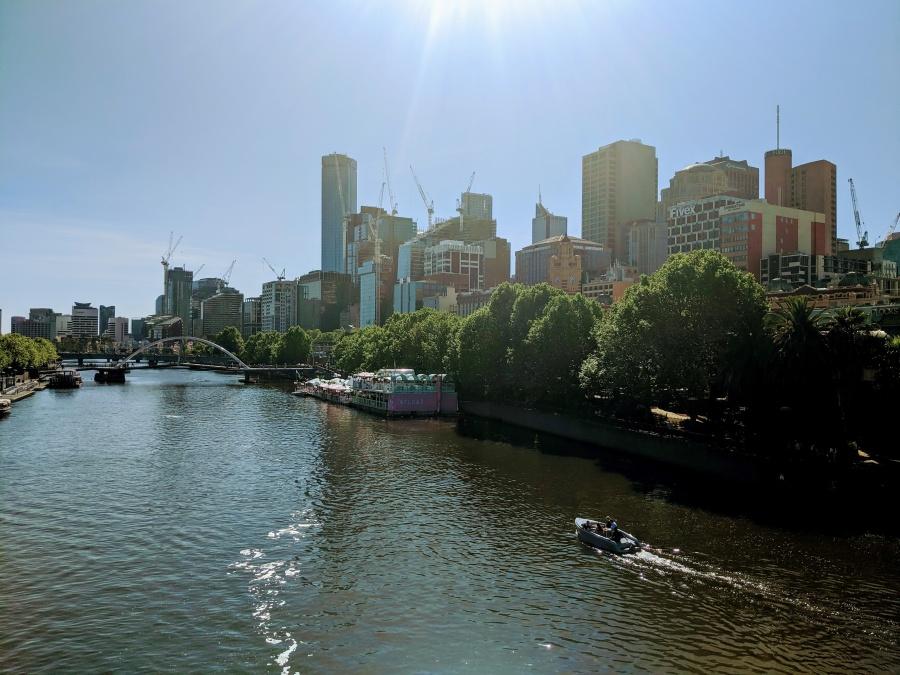 Melbourne. Count the construction cranes!