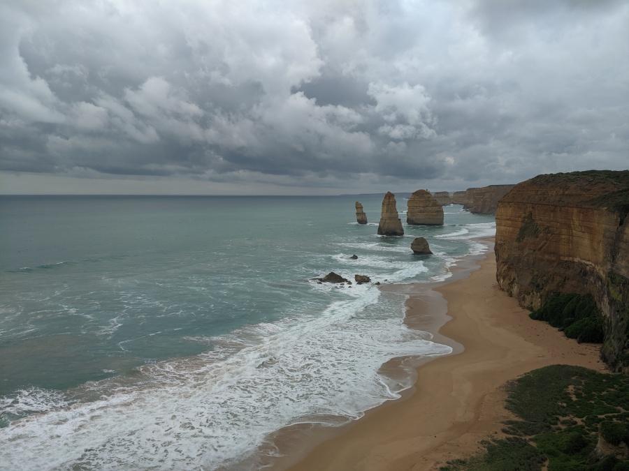The Twelve Apostles in Victoria, Australia