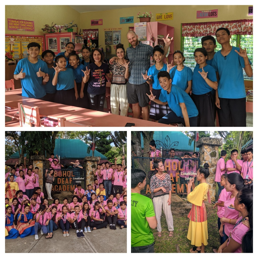 Bohol Deaf Academy and the program for the deaf at Loon South Central Elementary School
