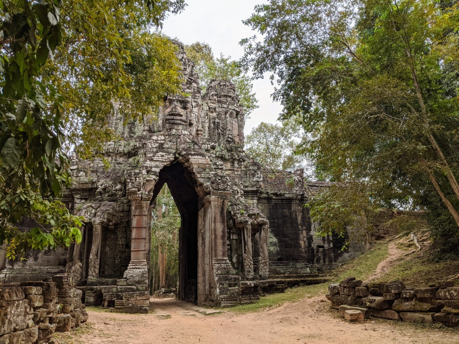 Khmoch Gate - The Gate of the Dead in Angkor