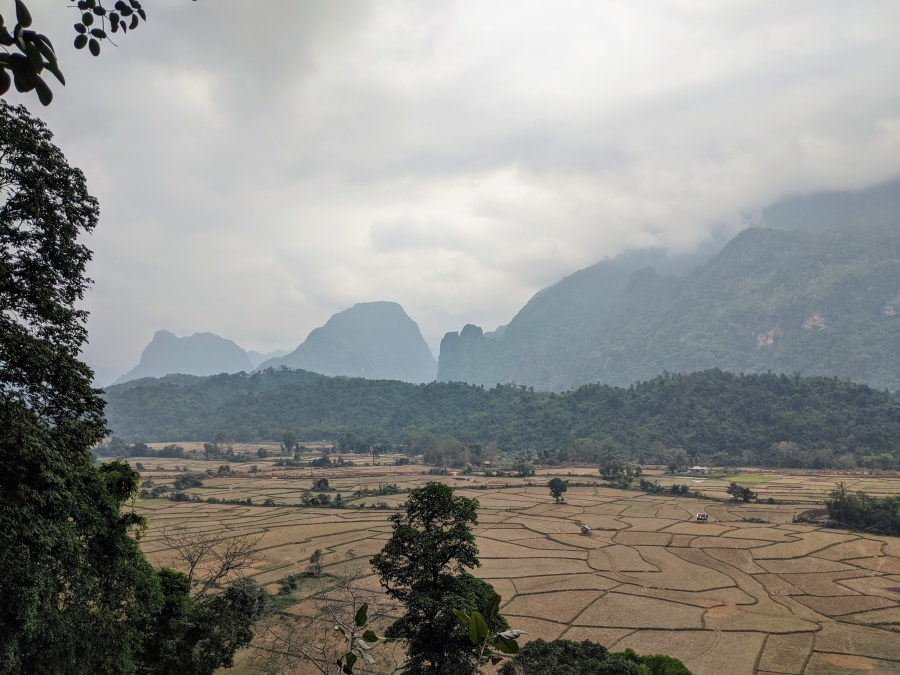 Countryside to the west of Vang Vieng