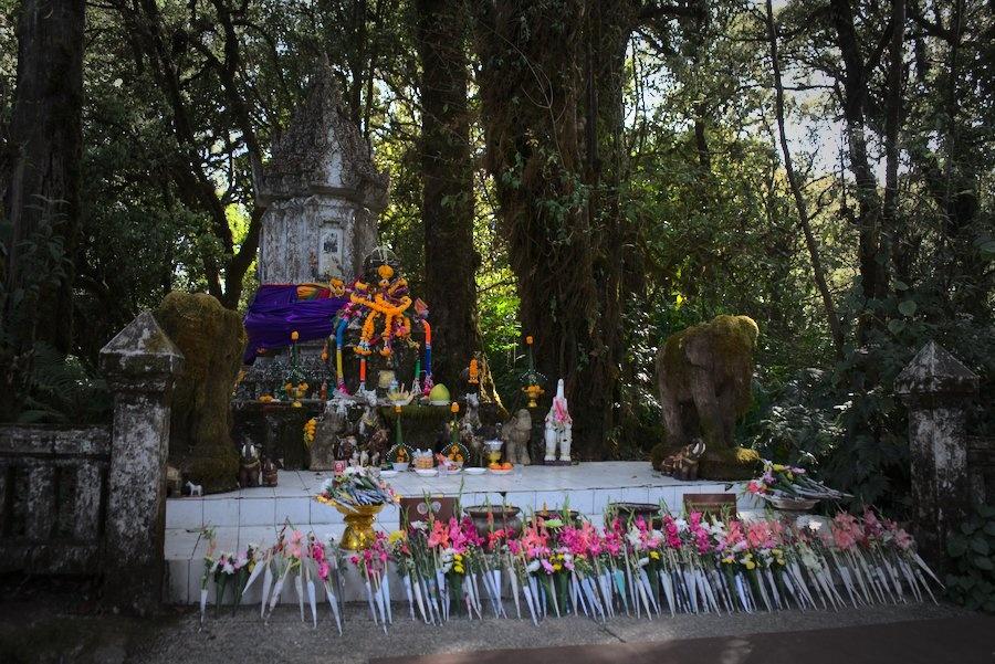 Shrine on Doi Inthanon