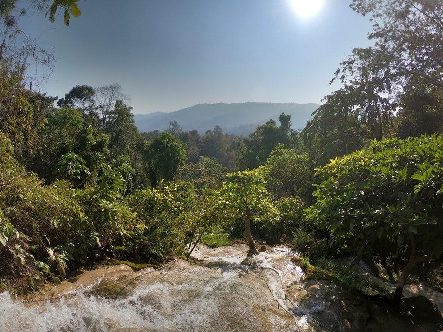 Bua Tong 'Sticky' Waterfalls